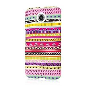 MPERO SNAPZ Series Rubberized Case for Google Nexus 6 - Aztec Fiesta