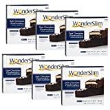 WonderSlim High Protein Meal Replacement Bar - High Fiber, Kosher, Choco Marshmallow - 6 Box Value-Pack (Save 10%)