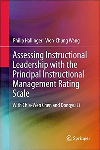 Kostenloses PDF-eBook herunterladen Assessing Instructional Leadership with the Principal Instructional Management Rating Scale (Springerbriefs in Education) PDF PDB