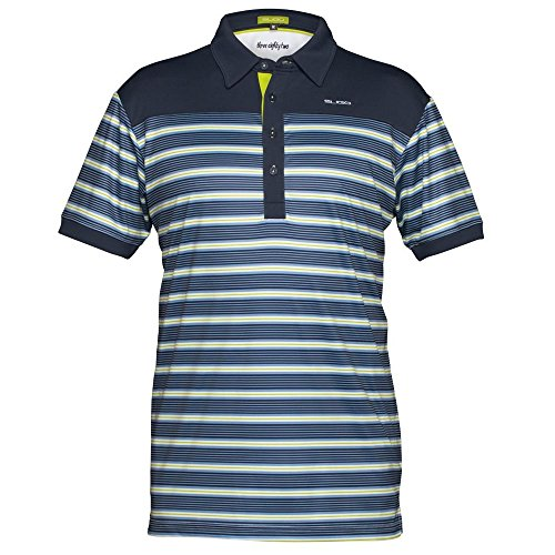 Sligo Men's SL16A303 Shirt, Navy, (Sligo Golf)