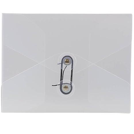 JAM papel plástico cartera con botón y cierre de cadena – pequeño – 5 1/