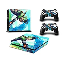 Vanknight Vinyl Wrap Decal Skin Sticker Anime The Legend Of Zelda for PS4 Playstaion Controllers