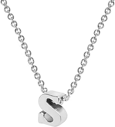 Engraved Mom Children Silver Tone Crystal Rhinestone Pendant Necklace Jewelry
