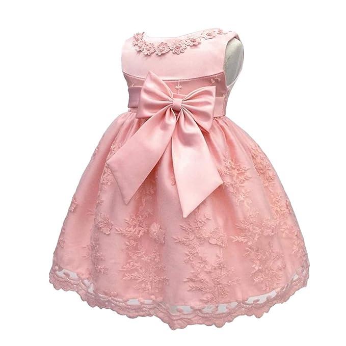 BOZEVON Vestido De Princesa para Bebé - Vestidos De ...