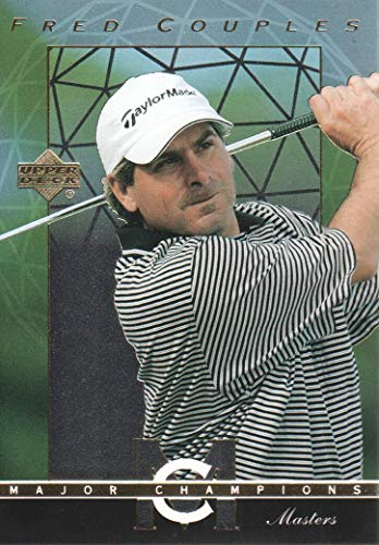 2003 Upper Deck Golf Major Champions #17 Fred Couples 92 Masters