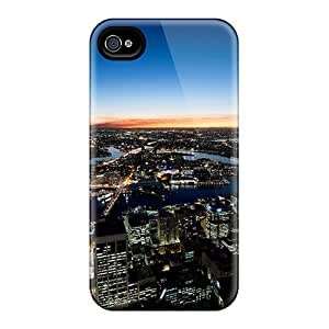 Durable Case For The Iphone 5/5s- Eco-friendly Retail Packaging(sydney Night Lights)