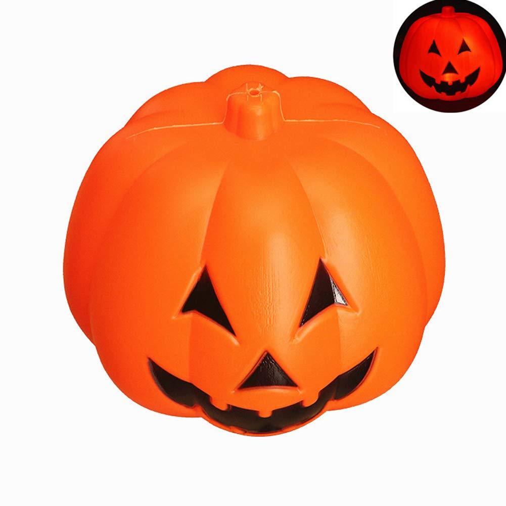 LanLan 24cm lumière de Citrouille Halloween lumière contrôle Lumineux avec de la Musique pour Enfants Fournitures d'halloween