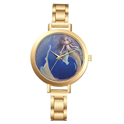 GSKTY Grandes Relojes para Mujer Relojes de Hora Top Marca Cuarzo Reloj Mans patrón reticular Cuero