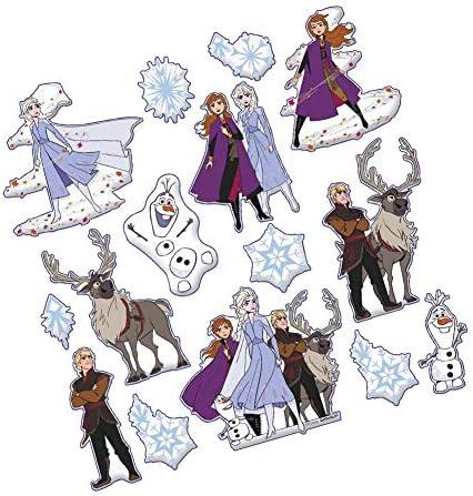 Frozen 2 Stickers Disney Movie Puffy Glitter Foil Kids Stickers Elsa Anna ! 150