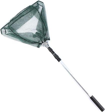 Retractable Fishing Net Telescoping Foldeable Landing Pole Folding For Fly Fishi
