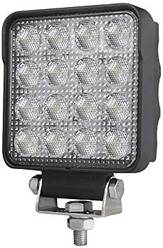 12V//24V Anbau stehend Hella 1G0 357 101-012 Arbeitsscheinwerfer Hella ValueFit R1500 LED f/ür Nahfeldausleuchtung