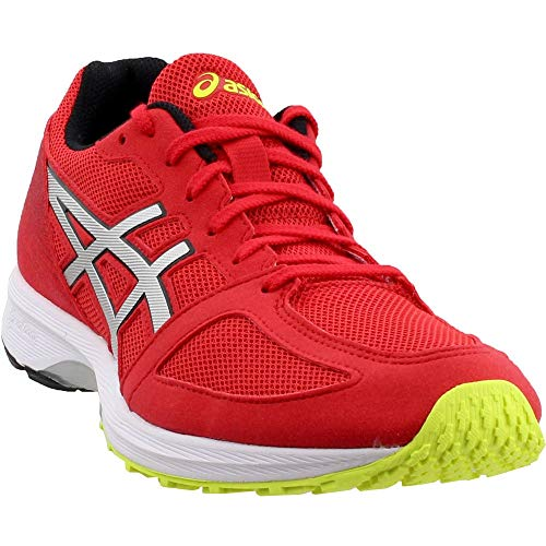 ASICS Men's LyteRacer TS 7, Classic Red/Silver, 11 D