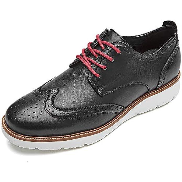 LAOKS Mens Wingtip Dress Shoes, Lace-up Oxford, Fashion Sneaker