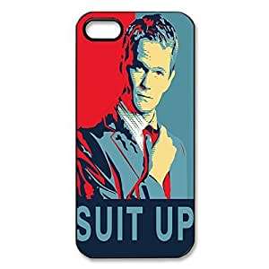 Cool Design How problem I Met Your Mother Printed Hard Plastic Case Shell Cover for iPhone warm 5s/iphone 6 4.7 months _Black 30712 because