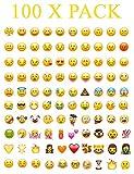 Where to Get Emoji Stickers 100 Set Whatsapp iPhone Laptop Emoji Emoticon Smiley Face Stickers Genuine
