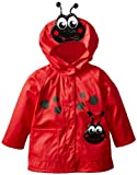 Western Chief Kids Soft Lined Character Rain Jackets, Lucy the Ladybug, 5