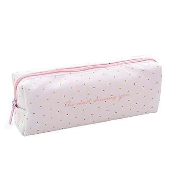 Schulbedarf Schreibwaren Flamingo-Design Make-up-Box Mäppchen Ledertasche