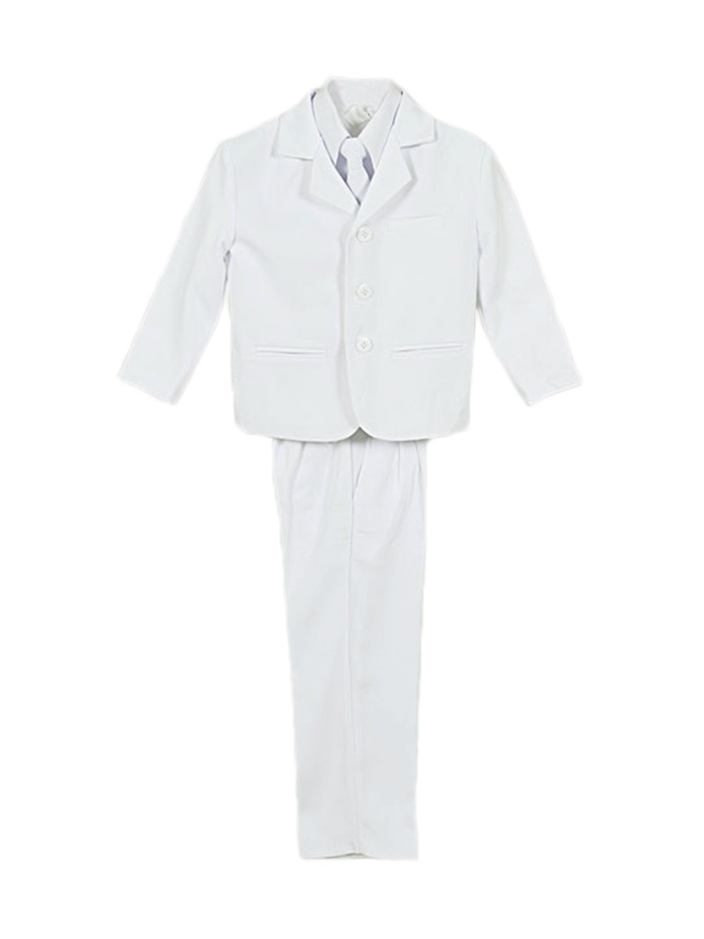 Kaifer ''Twill Formal'' 5-Piece Suit - white, 18