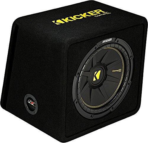 (Kicker 12-Inch 600 Watt 2 Ohm Vented Loaded Subwoofer Enclosure, 44VCWC122)