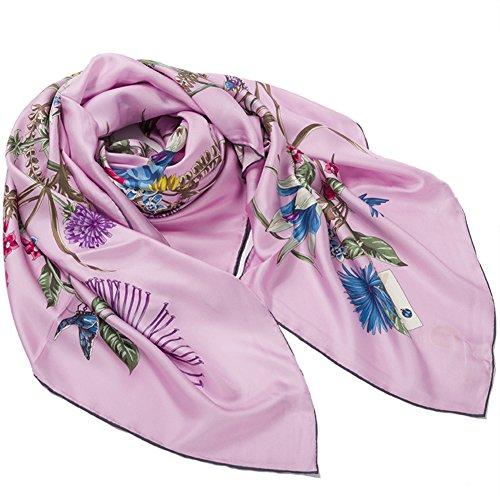 Silk scarf Silkworm silk scarves Shawl Scarf bandana-A One Size by Sweet costume