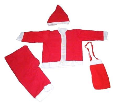 krystle boys cotton warm christmas dress for kids santa claus dresscostume size - Santa Claus For Kids