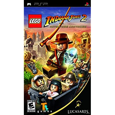 LEGO Indiana Jones 2: The Adventure Continues - Sony PSP: Video Games
