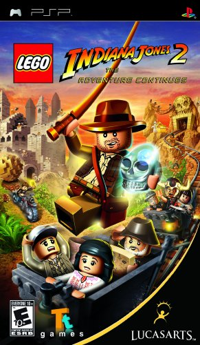 LEGO Indiana Jones 2: The Adventure Continues - Sony PSP by Warner Bros