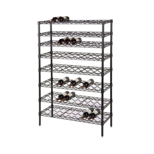Focus Foodservice FWSK3674BK Single Wine - Wine Rack Kit 108 Bottle Shopping Results