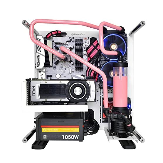 Thermaltake TtMod Sleeve Extension Power Supply Cable Kit ATX/EPS/8-pin PCI-E/6-pin PCI-E with Combs, Pink/Black AC-046… 51oZTEeqf%2BL. SS555