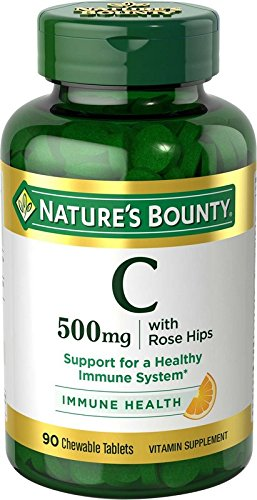 Natures Bounty Vitamin Chewable Tablets