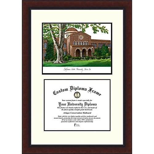 Image of Campus Images CA919LV California State University, Chico Legacy Scholar Diploma Frame, 8.5' x 11' Document Frames