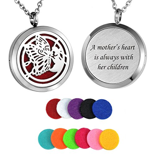 HooAMI Essential Oil Diffuser Necklace -