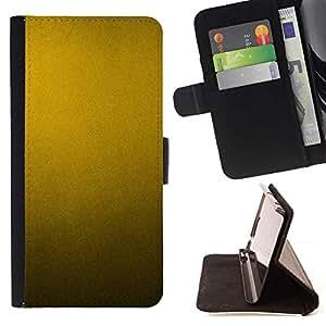 For Sony Xperia Z5 (5.2 Inch) / Xperia Z5 Dual (Not for Z5 Premium 5.5 Inch) Case , Patrón de metal rústico metálico amarillo- la tarjeta de Crédito Slots PU Funda de cuero Monedero caso cubierta de piel