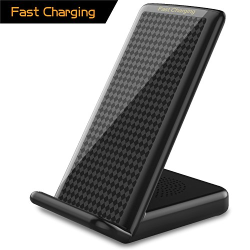 Click to buy 2018 iPhone X Fast Wireless Charger,Vapesoon Standard QI Fast Wireless Charging Pad Stand With Multi-hole Cooling Design for iPhone X/8/8 Plus,Fast Wireless Charging for Galaxy S9 Note 8 S8 S8 Plus S7 - From only $21.99