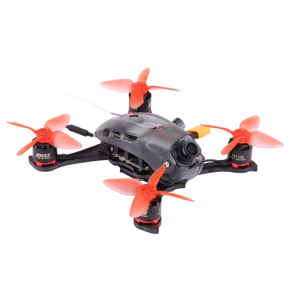Dilwe RC Racing Quadcopter, RS1106 6000KV Motoren 40CH 12A ESC 5,8G Kohlefaser Racing Quadcopter Rahmen Flug Controller(BNF)