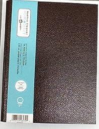 Brown Martha Stewart Home OfficeTM with AveryTM Premium Shagreen Finish (Small-Format Binder 1\