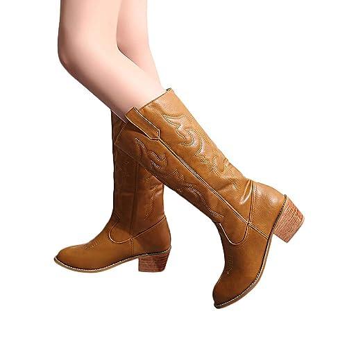 Winter Schuhe Langschaft Bhydry Damen Aufladungen Stiefel uKJc5F1Tl3