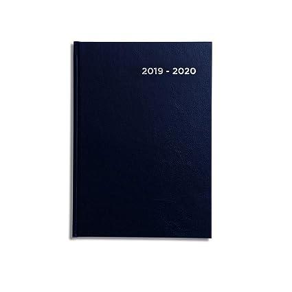 Pirongs agenda escolar 2017 - 2018, color azul marino ...