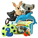 Wild Friends Adventure Sewing & Craft Kit - Kangaroo, Koala, Dolphin, Bat, Peacock