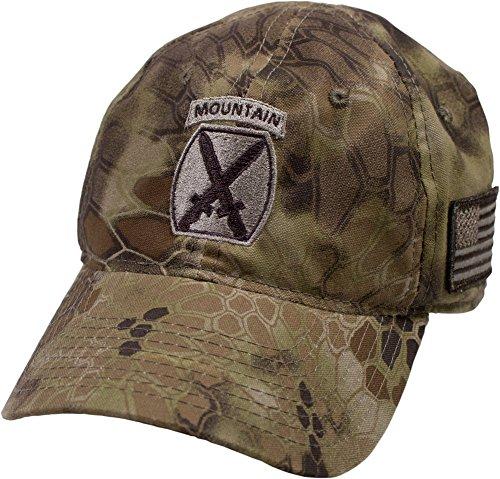 U.S. Army 10th Mountain Division Kryptek Camo Cap