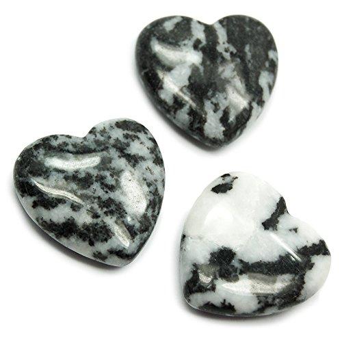 Zebra Jasper Heart (1