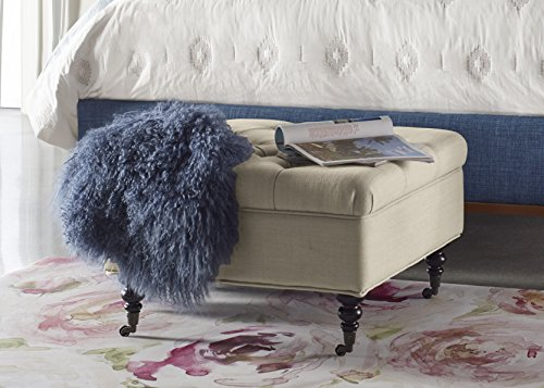 quilted foot stools - 9