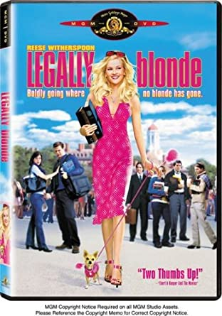 Legally Blonde Dvd