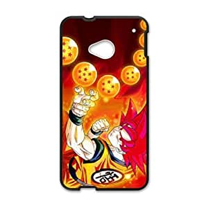 Drangon ball z HTC One M7 Custom Case Stylish DIY Pattern Smooth Hard Case Fits For HTC One M7 New