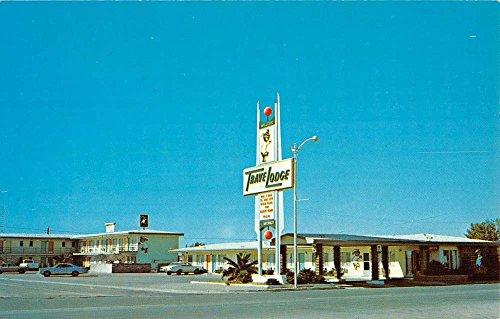 willcox-arizona-travelodge-street-view-vintage-postcard-k37380