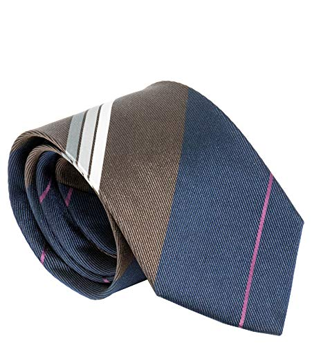 burberry ties for men brown - 4