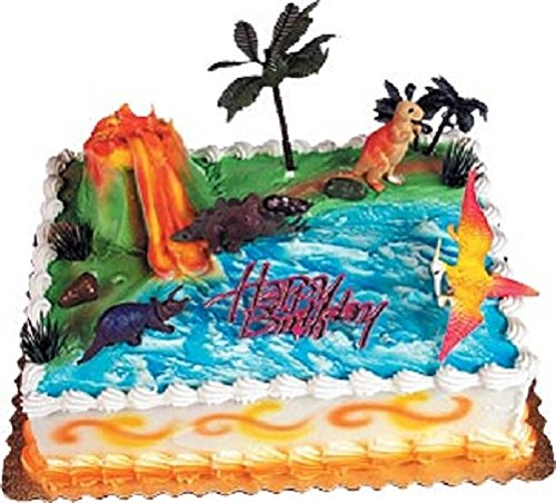 Oasis Supply Dinosaur Cake Rex Topper Kit, 1 Set -