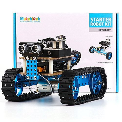 Makeblock DIY Starter Robot kit - Premium Quality - STEM Education - Arduino - Scratch 2.0 - Programmable Robot Kit for Kids to Learn Coding, Robotics and Electronics (IR Version) by Makeblock (Image #9)