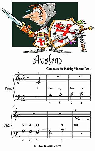 Avalon Beginner Tots Piano Sheet Music (Piano Avalon)