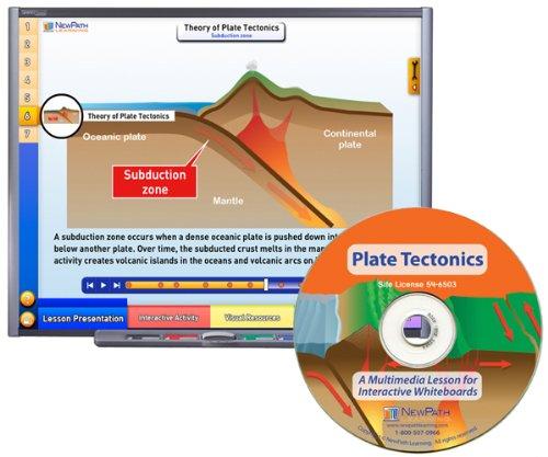 Site License//Single Building Grade 6-10 54-6503 NewPath Learning Plate Tectonics Multimedia Lesson